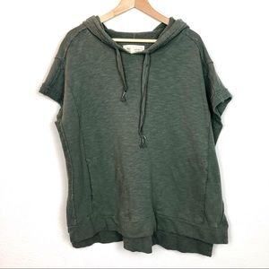 Anthropologie Saturday Sunday Poncho Hoodie